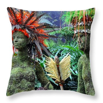Orchid 32 Throw Pillow by Marty Koch