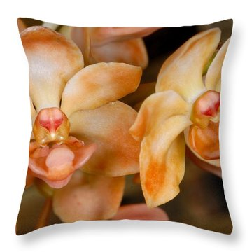 Orchid 392 Throw Pillow