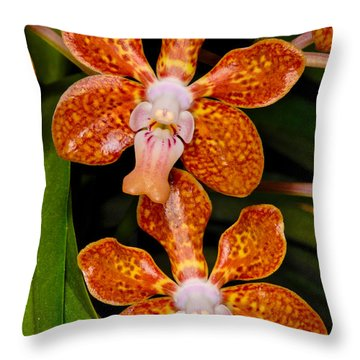 Orchid 450 Throw Pillow