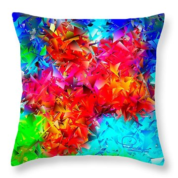 Orchid 5 Throw Pillow