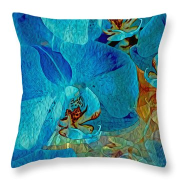 Orchid Reverie 10 Throw Pillow