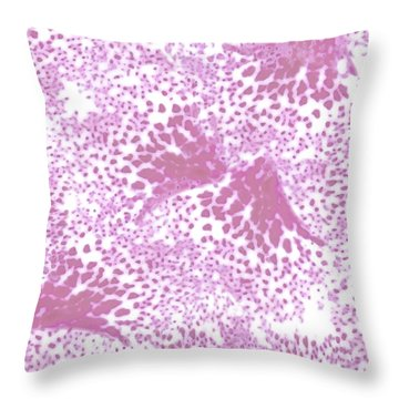 Orchid Wings - Orchid Throw Pillow
