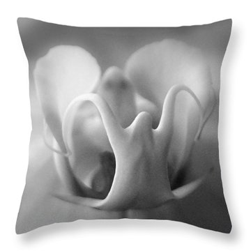 Ghostly Grandeur Throw Pillow