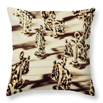 Throw Pillow featuring the photograph Order Of Law And Justice by Jorgo Photography - Wall Art Gallery