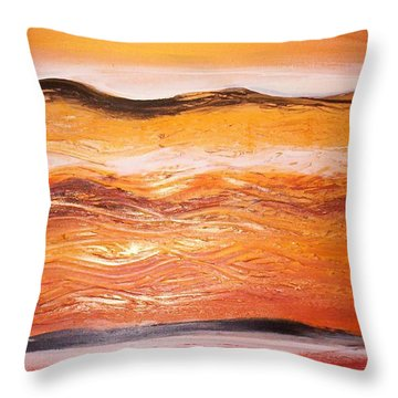 Orders To The Morning Throw Pillow