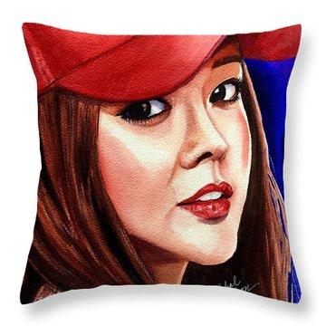 Throw Pillow featuring the painting Ordinary Moments by Michal Madison