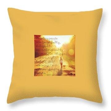 Beauty Throw Pillows