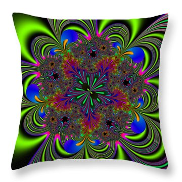 Orditively Throw Pillow