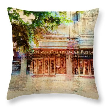 Ordway Center Throw Pillow