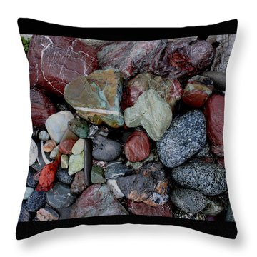 Oregon Beach Collection Throw Pillow