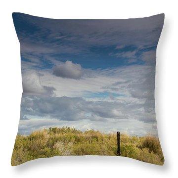 Oregon Clouds Throw Pillow