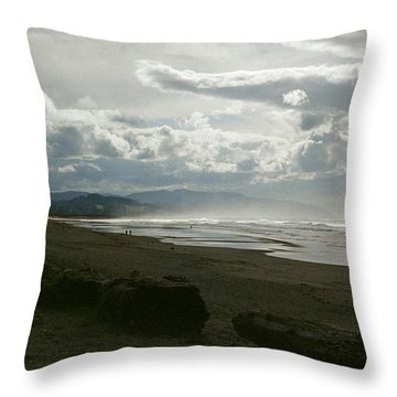 Oregon Coast 10 Throw Pillow