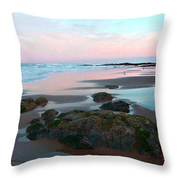Oregon Coast 2 Throw Pillow