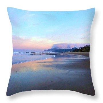 Oregon Coast 4 Throw Pillow