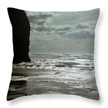 Oregon Coast 5 Throw Pillow