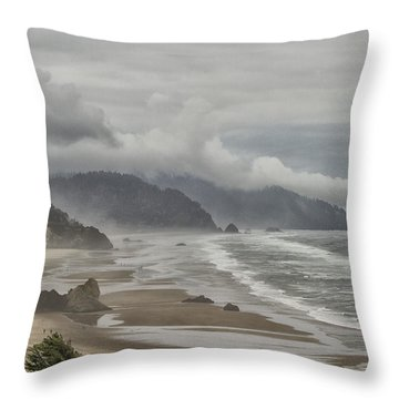 Oregon Dream Throw Pillow by Tom Kelly
