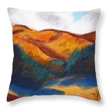Oregon Hills Throw Pillow