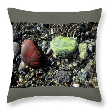 Oregon Jasper #1 Throw Pillow