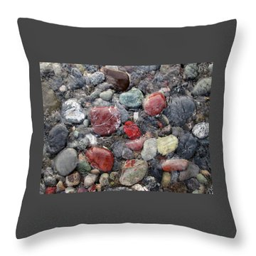 Oregon Jasper #2 Throw Pillow