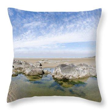 Oregon Tide Pool Throw Pillow