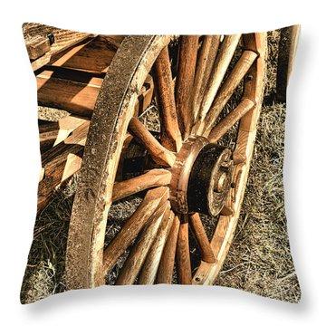 Oregon Trail  Throw Pillow