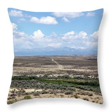 Oregon Trail Throw Pillow