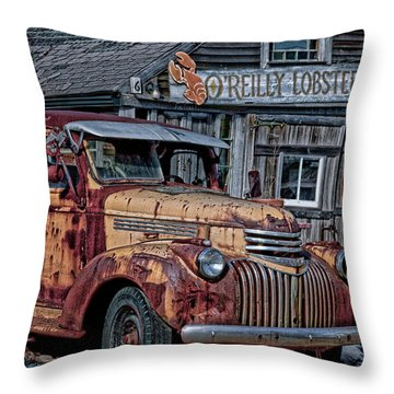 O'reilly Lobster Pound Throw Pillow