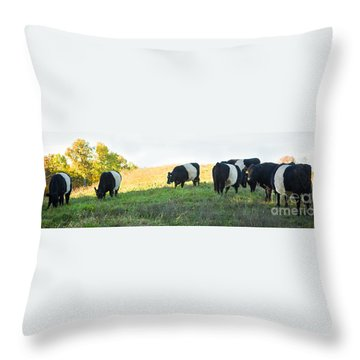 Oreos - Milk Included Throw Pillow by Carol Lynn Coronios