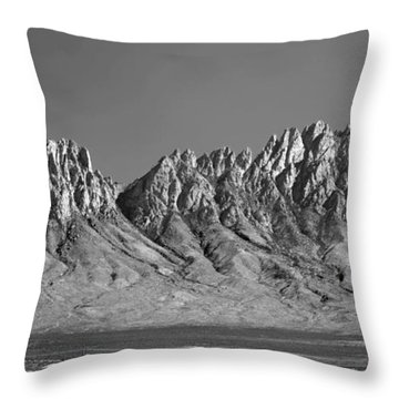 214878-organ Mountains Panorama     Throw Pillow