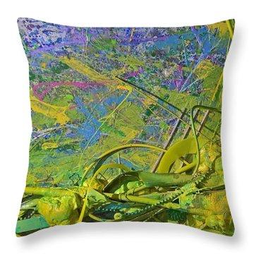 Organic Choas #3 Throw Pillow