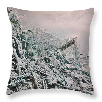 Organic Choas #4 Throw Pillow