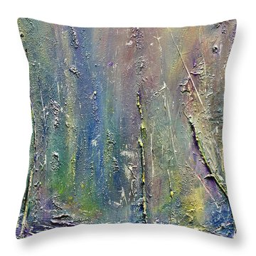 Organic Fantasy Forest Throw Pillow by Dolores  Deal