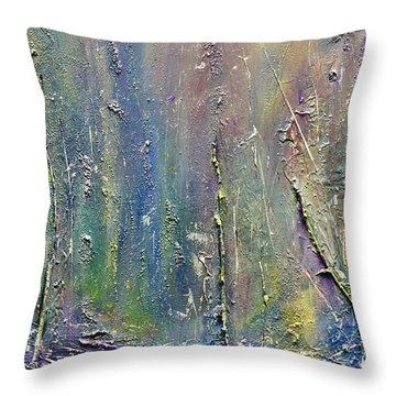 Organic Fantasy Forest Throw Pillow