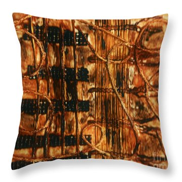 Organic - Landscape  Throw Pillow