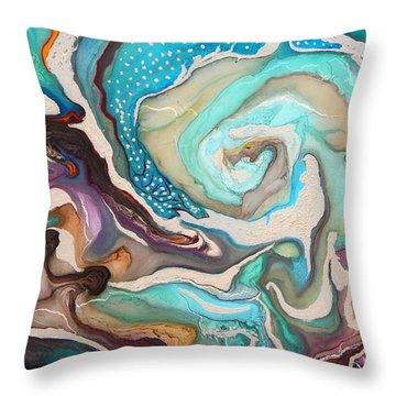 Organico Xxlx Throw Pillow