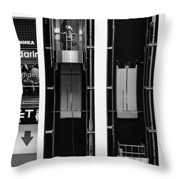 Throw Pillow featuring the photograph Organics In The Machine by John Williams