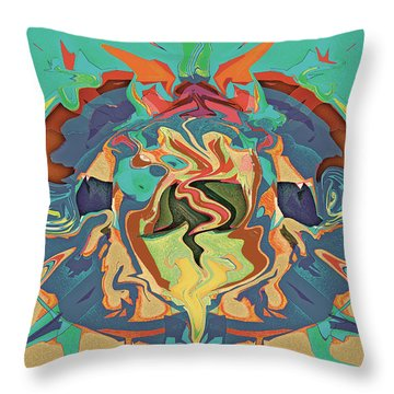 Organism Throw Pillow