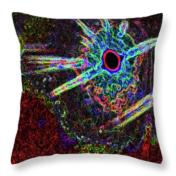 Organized Chaos 2 Throw Pillow by Bruce Iorio