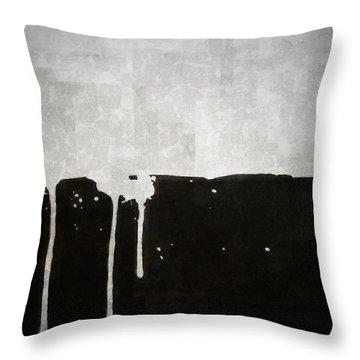 Origin Throw Pillow by Brett Pfister