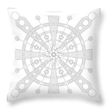 Origin Throw Pillow