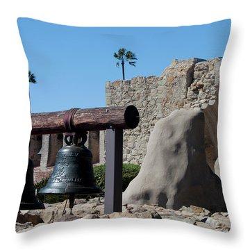 Original Bell Tower Throw Pillow