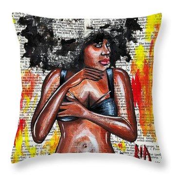 Originality Throw Pillow