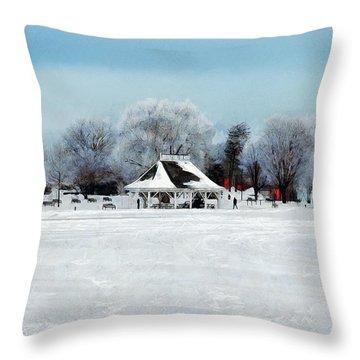 Orillia Winter Throw Pillow