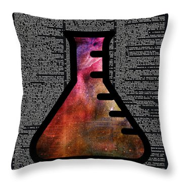 Orion Alchemy Vial Throw Pillow