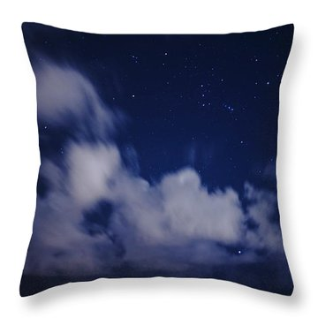 Orion Beach Throw Pillow