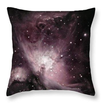 Orion Nebula M42 Throw Pillow