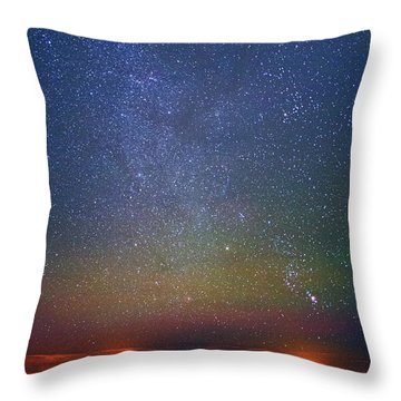 Orion Rising Throw Pillow