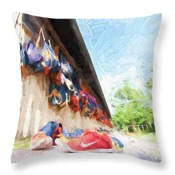 Orlando Area Rowing Society Throw Pillow