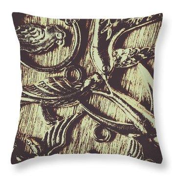 Birdwatching Throw Pillows