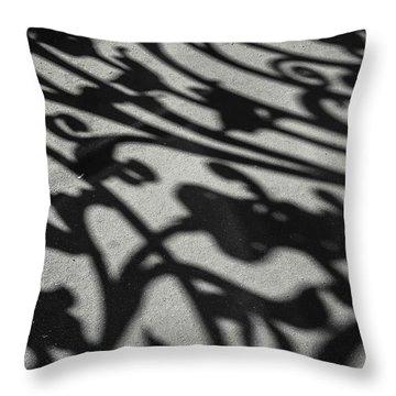 Throw Pillow featuring the photograph Ornate Shadows by KG Thienemann